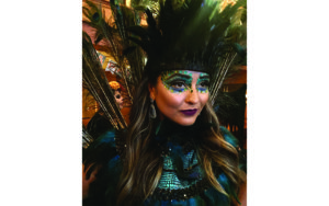 Peacock Makeup Halloween Costume