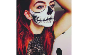 Skull Makeup Halloween Costume Makeup