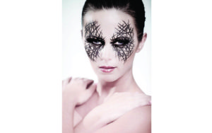 Model Body Art Makeup