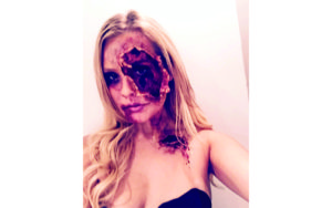 Halloween Special Fx Makeup Ripped Skin Halloween Costume