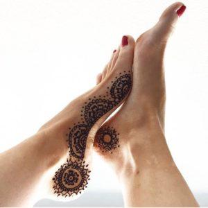 Henna Mandela Foot Design Toronto