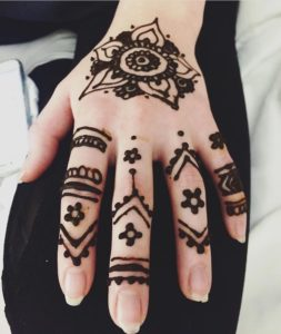 Henna Hand Design Toronto
