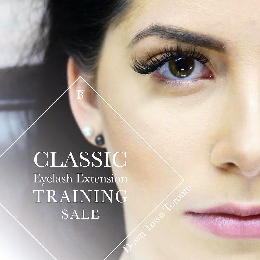 eyelash extension training Toronto sale